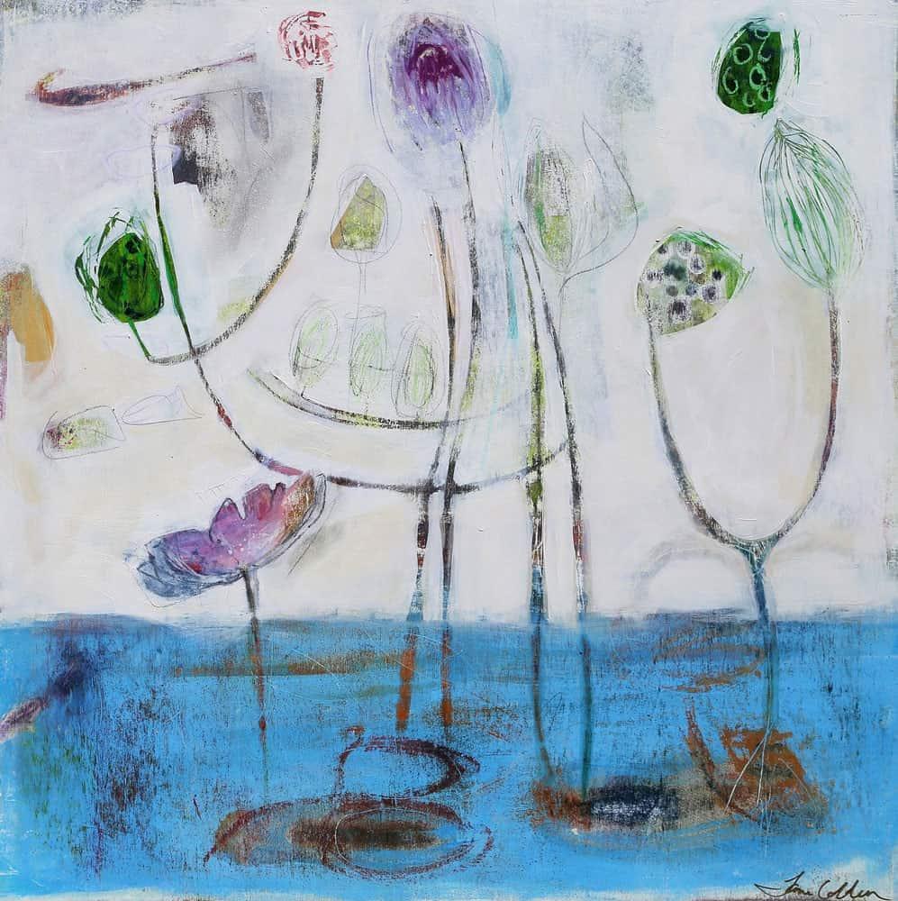 Jane Colden -- Waterlilies