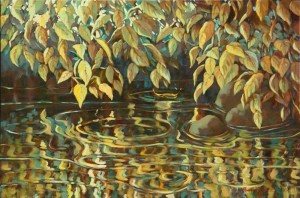 Bonnie Brooks--Autumn Over Water II