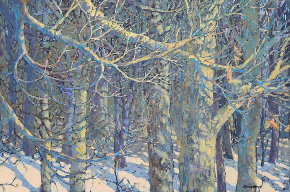 Bonnie Brooks -- Light In A Winter Woods