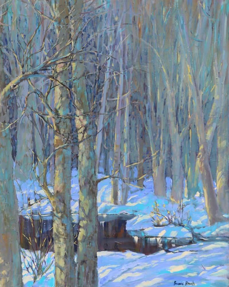 Bonnie Brooks -- March Pond