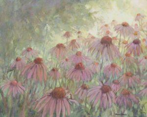 Bonnie Brooks -- March of the Coneflowers