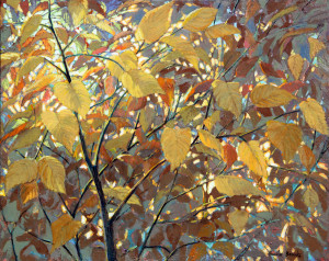 Bonnie Brooks--Fall Colour (Acrylic)