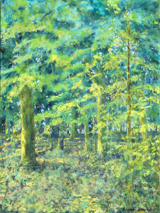 Bonnie Brooks--Morning Woods (Acrylic)
