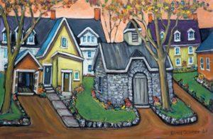 Grace George–Back Lane in Spring