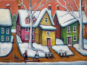 Grace George–Coming Home From Sledding