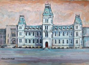 Grace George -- Mackenzie Building, R.M.C.