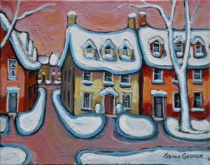 Grace George -- Winter In Kington