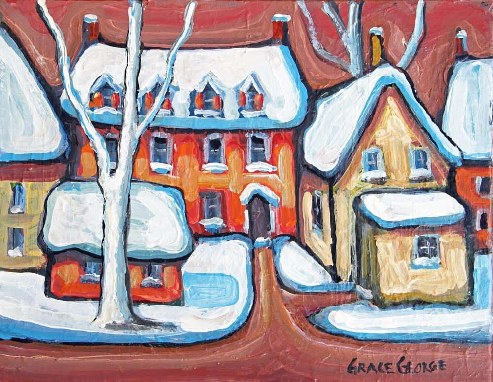 Grace George - Wintery Kingston