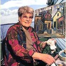Grace George, painter