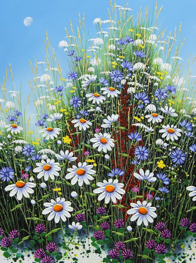 Jordan Hicks--Daisies & Blue Sky