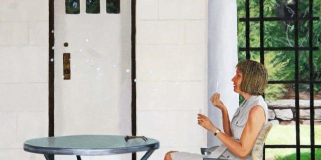Maureen Sheridan -- Blowing Bubbles
