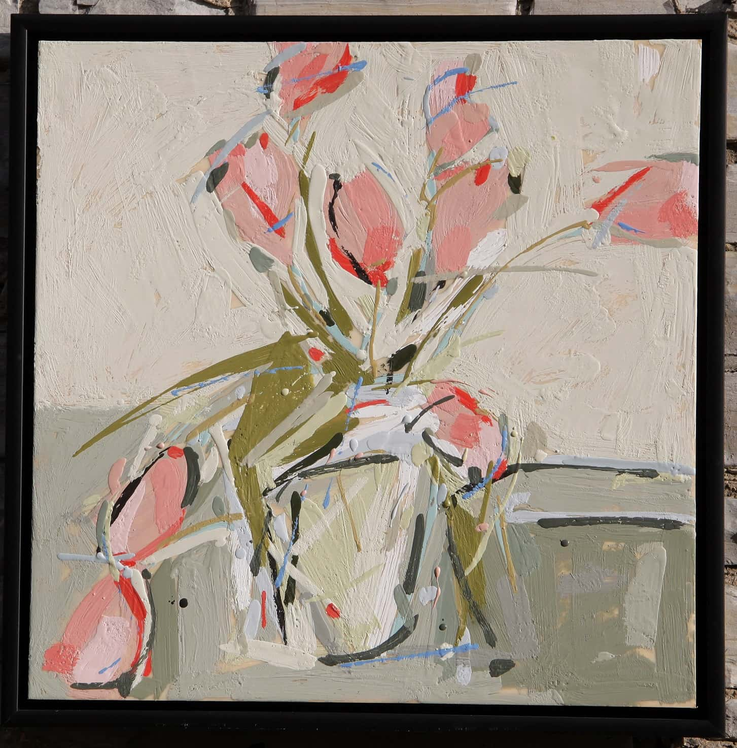 Peggy Morley -- Pink Tulips IV