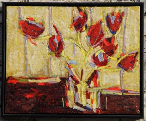 Peggy Morley -- Red Tulips
