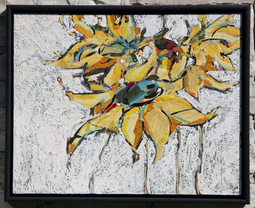 Peggy Morley -- Sunflowers IX