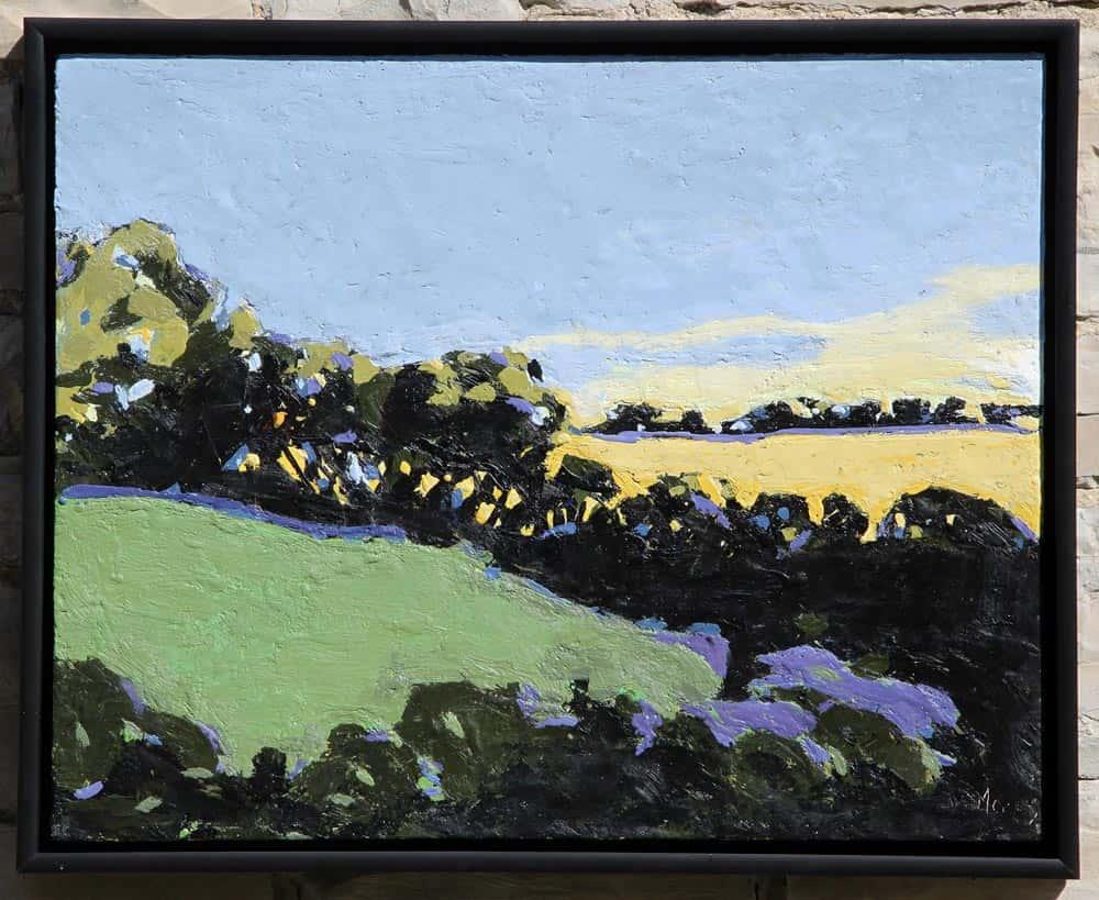 Peggy Morley -- Sunset, Hale