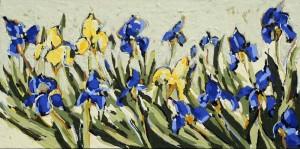 Peggy Morley -- Blue Iris IV