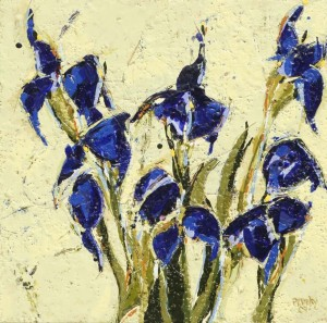 Peggy Morley -- Blue Iris
