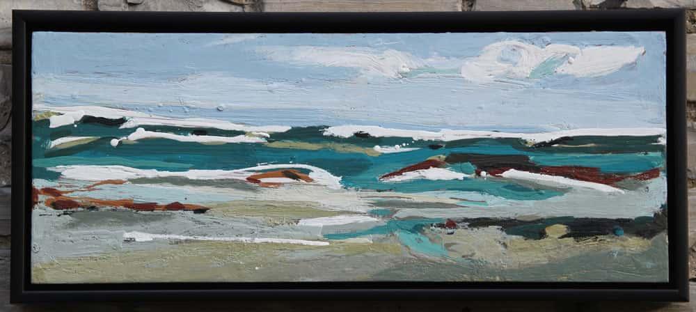 Peggy Morley -- Huron Beach Wave VI