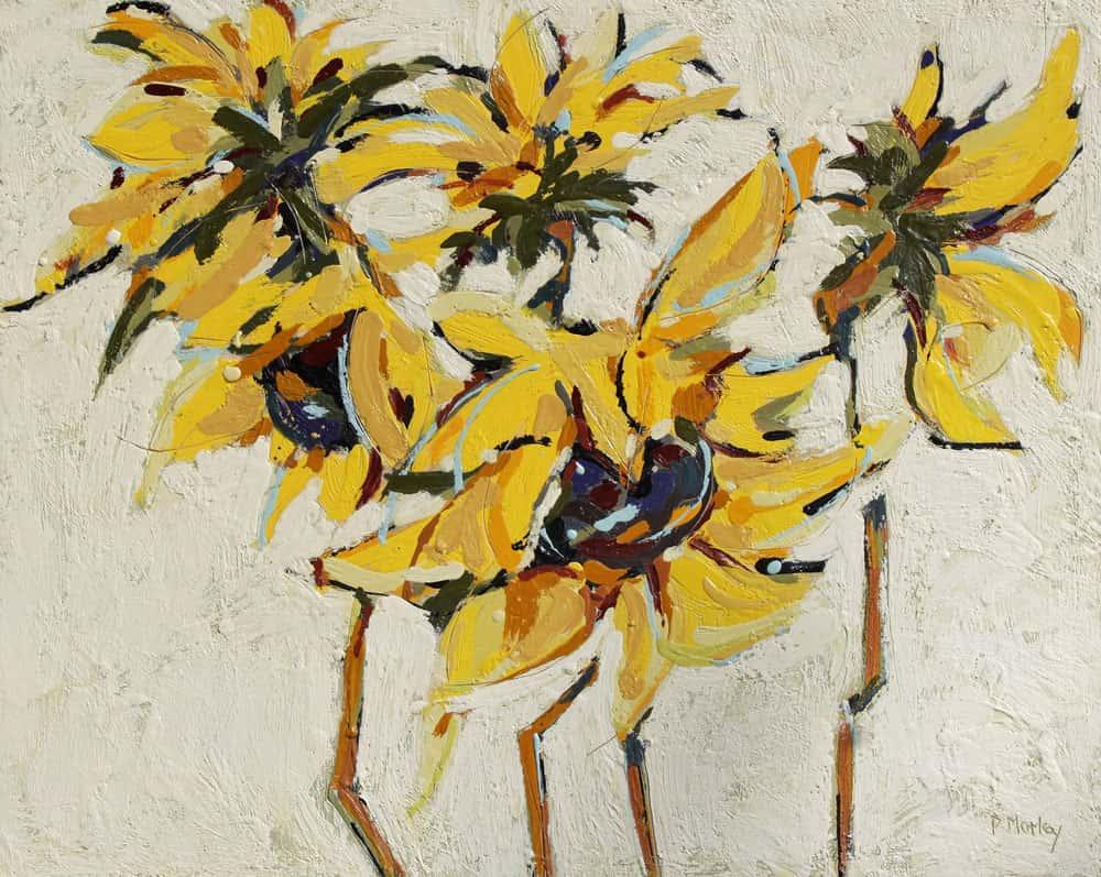 Peggy Morley -- Sunflowers VIII