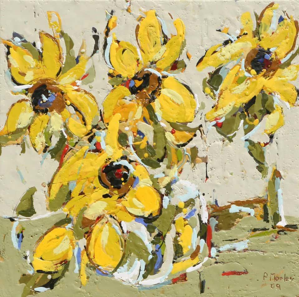 Peggy Morley -- Sunflowers V