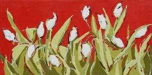 Peggy Morley -- White Tulips