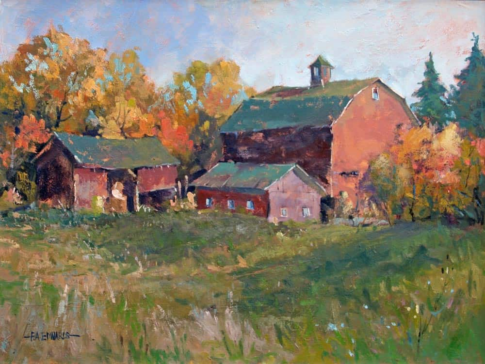 Frank Edwards Barns In Wilton Village