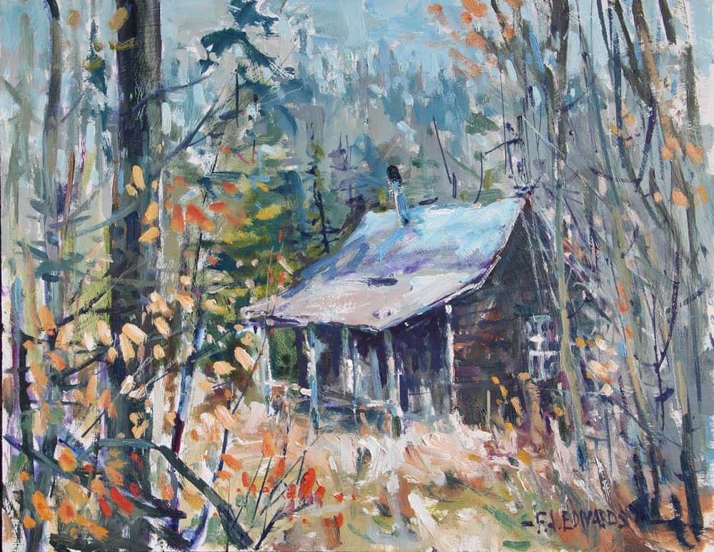 Frank Edwards--Tool Hut, Old Kingston Ski Hills