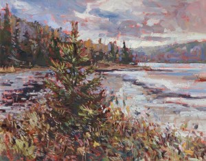 Frank Edwards -- Lone Pine, Opeongo Lake