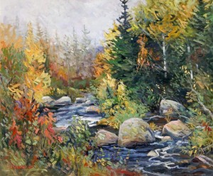 Frank Edwards -- Misty Autumn Morning River