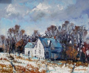 Frank Edwards -- Ontario Farmhouse