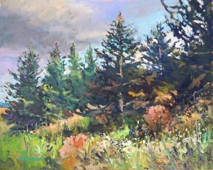 Frank Edwards -- Roadside Spruce