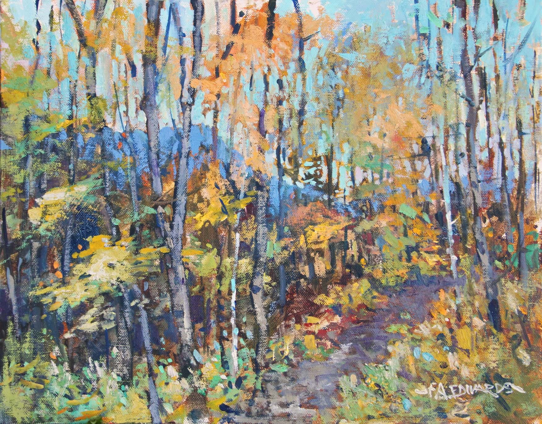 Frank Edwards -- Woodland Autumn