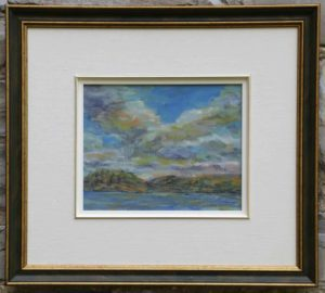 Gerry Wright--Clouds And Wind, Mary Lake