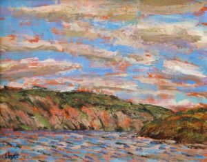 Gerry Wright--Cloud And WInd, Mazinaw