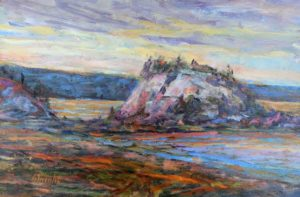 Gerry Wright--Evening Iona