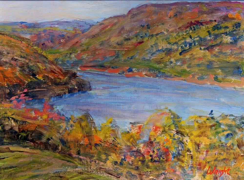 Gerry Wright -- Autumn Panorama