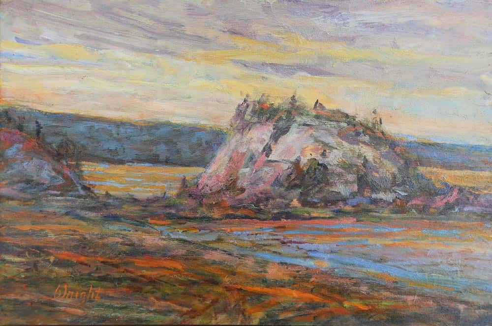 Gerry Wright -- Evening Iona