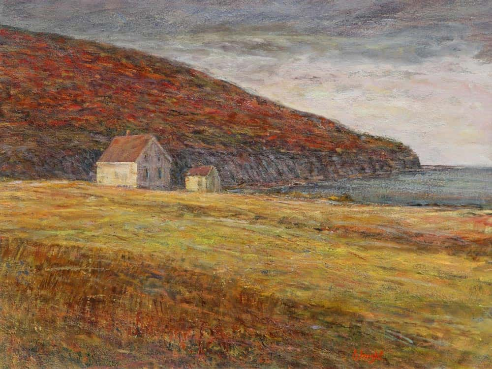 Gerry Wright - On the Road to Meat Cove