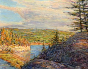 Gerry Wright -- Approaching Squall Bras D'Or Lakes