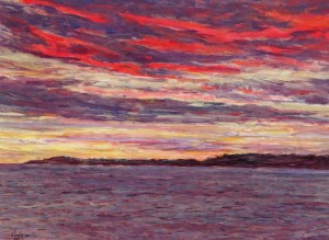 Gerry Wright -- Last Light, Seacow Head, P.E.I.