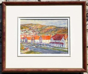 Gerry Wright -- Red Roofs - Llandudno, Wales