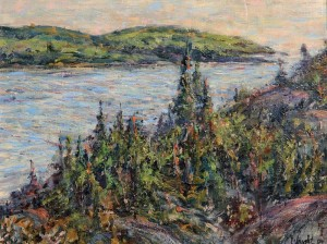 Gerry Wright--Rugged LakeSuperior Shoreline