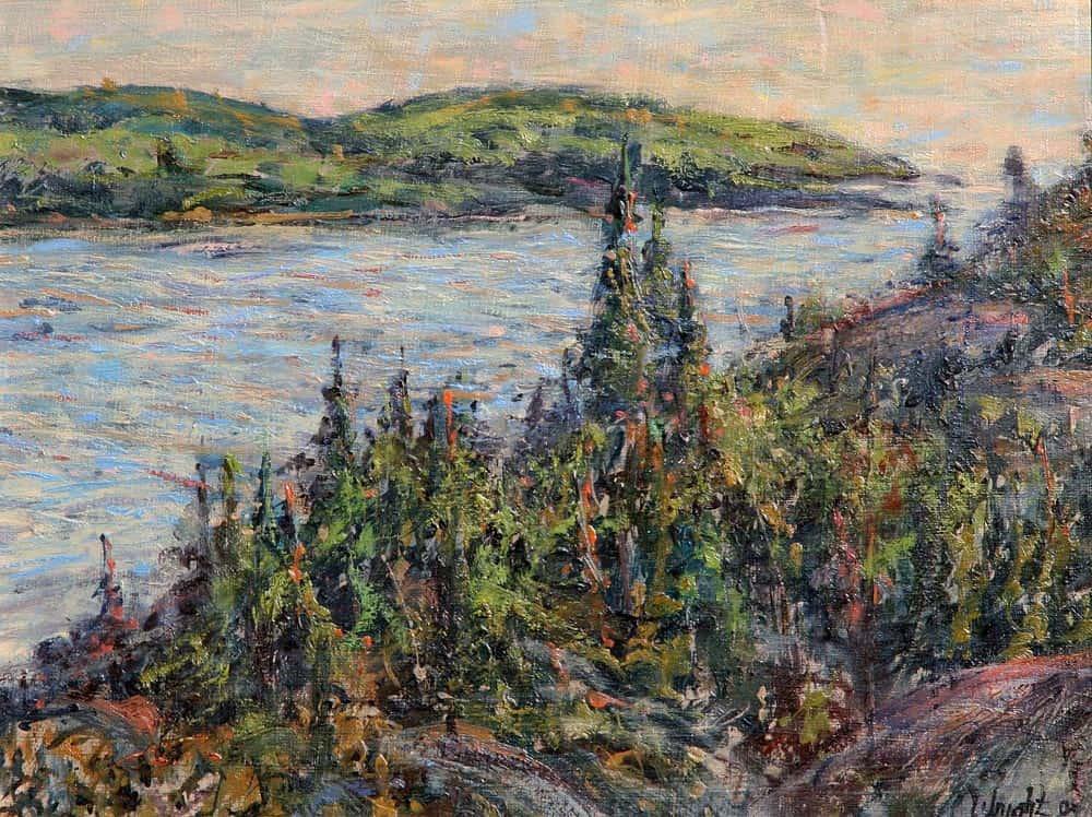 Gerry Wright -- Rugged Lake Superior Shoreline