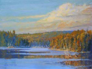 Harold Kaufmann--Vilnef's Lake--Early Fall