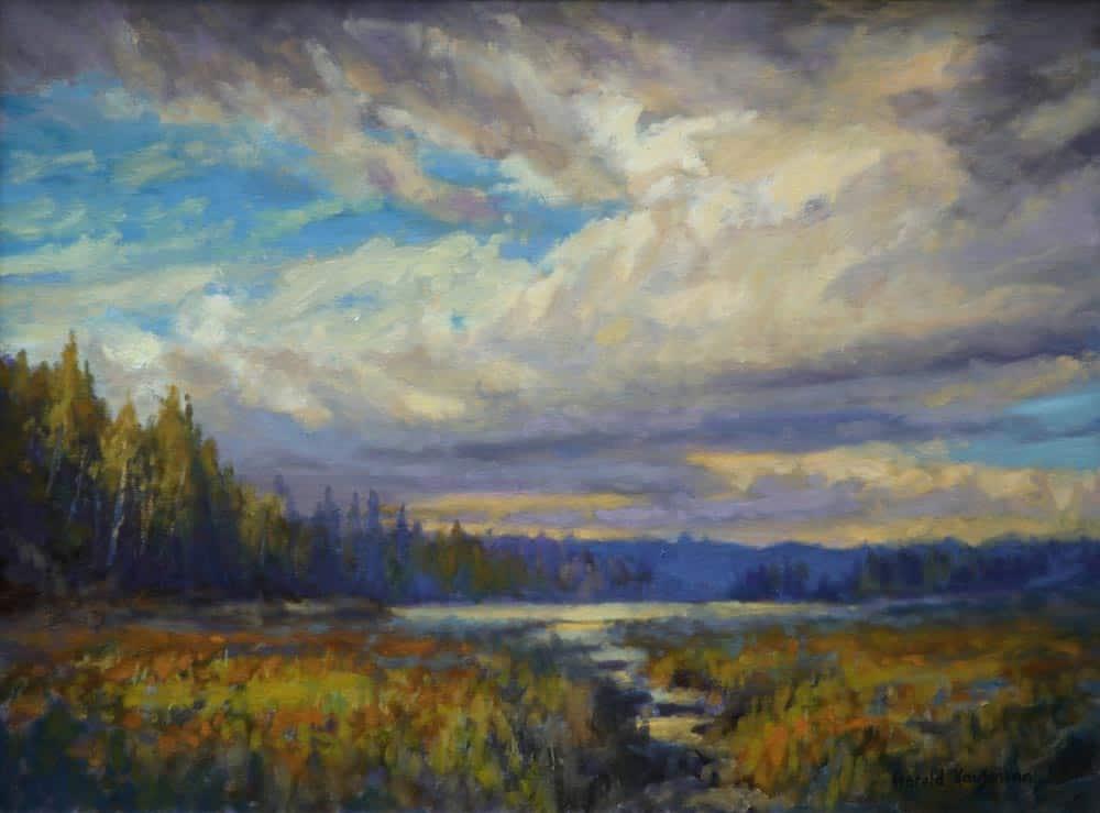 Harold Kaufmann--Cloudy Day, Madawaska