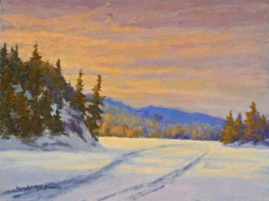 Harold Kaufmann--Snowmobile Trail