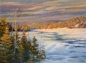 Harold Kaufmann--View Along The Madawaska River