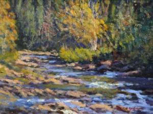 Harold Kaufmann--Woodland Stream