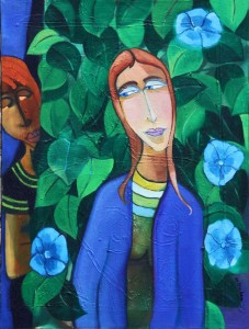 Mark Graham -- Blue Morning Glories