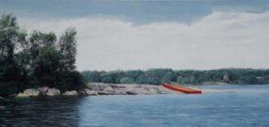Maureen Sheridan -- Red Canoe